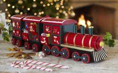 Lakeland's Advent Calendar Train - I want the train and the build-a-Nativity-scene, haha!