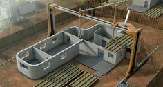 住宅を丸ごと3Dプリンターで! 米大学が工法を開発中|日経BP社 ケンプラッツ