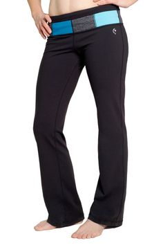 Art of Athletics - Women's Athletic Wear - Reversible Color Block Pant - Blue (http://www.aoaactivewear.com/reversible-color-block-pant-blue/)