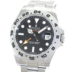 Rolex Explorer II swiss-automatic mens Watch 216570BKSO (Certified Pre-owned)