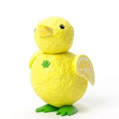 Enesco Home Grown Lemon Duckling Figurine, Vegetable Animals, Fruit Animals, Funny Vegetables, Home Grown Vegetables, Veggie Art, Fruit And Vegetable Carving, Fancy Food Presentation, Vegetable Decoration, Food Art For Kids
