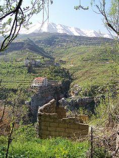 From Bcharre- Qadisha Valley, Lebanon ,nice home