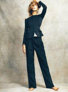 Daria Werbowy for Madame Figaro | photo: Nico