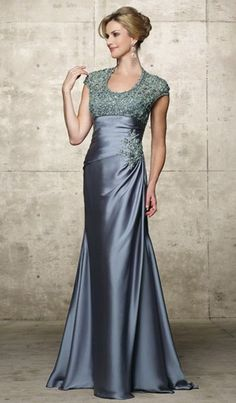 Long Dress Bahan Satin
