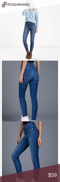 NWT Levi's Mile High Super Skinny Jeans Brand new pair of Levi's Mile High high waist skinny jeans. A modern take on a classic shape! Levi's Jeans Skinny