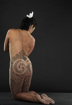 Nz maori women wet and naked