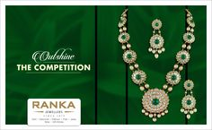 Outclass everyone with this beautiful and intricate necklace from Ranka Jewellers.