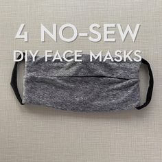 It s easy to make your own cloth face masks at home You don t even need to know how to sew Use these how-to instructions to make your own DIY cloth face mask nosewmask clothfacemask diyfacemask bhg Diy Masque, Easy Face Masks, Face Mask Diy, Funny Face Mask, Diy Couture, Useful Life Hacks, Mask Making, Creative Crafts, Sewing Hacks