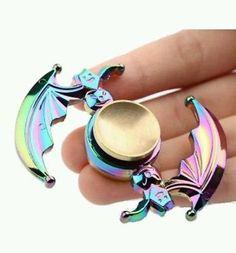 Halloween Colorful Fidget Spinner 4 Minute Spin Multicolor Finger Hand Spinner