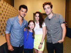 El cast de Twilight conviviendo en Comic Con 2012