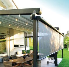 sliding+shade+awning | ... / aluminium / fabric sliding canopy LOTUS Palmiye Shade Systems