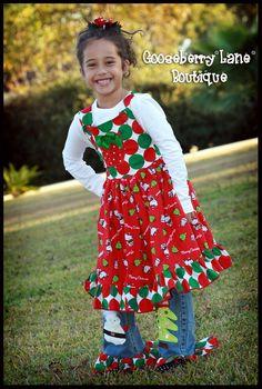 HANDMADE HELLO KITTY CHRISTMAS HOLIDAY 3PC SET SZ 2T-8 ETSYKIDS. $125.00, via Etsy.