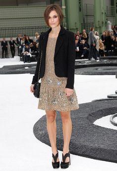 Celeb fashionistas at Chanel fashion show