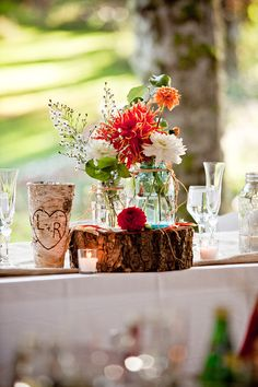 Maybe something similar to this for reception tables?...