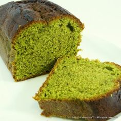 Matcha Tea Flavored Poundcake - Yunomi.us