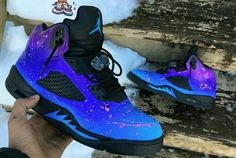 Customized air jordan retro 5