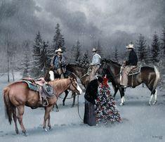 Christmas for cowboys 2 by robhas1left.deviantart.com on @deviantART