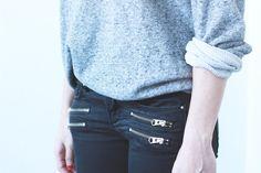 Topshop-zipper-skinny-jeans
