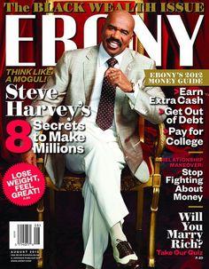 Ebony Magazine Steve Harvey The Black Wealth Issue Olympic Athletes Weight Loss Black History Facts, Black Culture, Black Hollywood, Steve Harvey, Comedians, Steve, Ebony, African American History