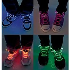 LED Light Up Shoelaces. Want to buy as a gift for brother.