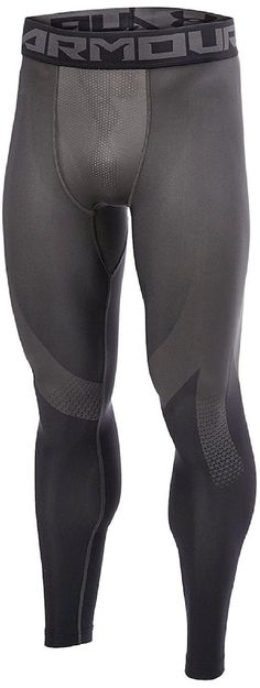 Under Armour Heatgear Compression Leggings Men Herren Legging carbon 1257474-090