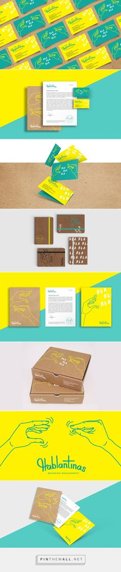 Hablantinas Management Company Branding by Carla Peraza | Fivestar Branding – Design and Branding Agency & Inspiration Gallery | #BrandingInspiration