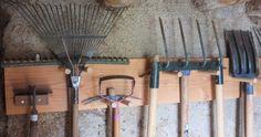 Ranger ses outils de jardin, des idées