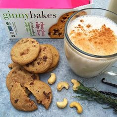 How does a warming cup of spiced cashew milk & outrageously delicious cookies sound?!  (Instagram: @kaleandchocolate)