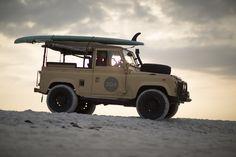 30A South Walton 30a 2059 Photographer Sean Murphy Takes Aim at Truman    30As Classic Land Rover Defender