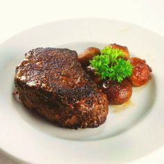 Mushroom-Crusted Filet Mignon with Madeira Sauce - Certified Steak andSeafood Promotion
