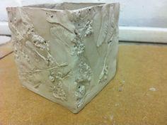 Jenna Lister Ceramics, slab box