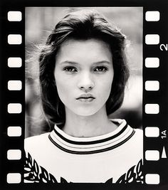 Kate Moss photographed by David Ross.