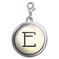 Letter E Typewriter Key Stainless Steel Pet Dog ID Tag -- Be sure to check out this awesome product.