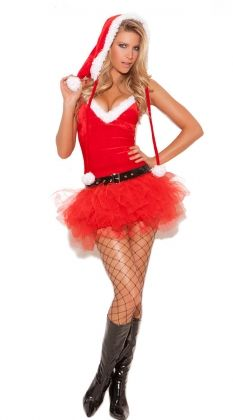 5e716088e Costume-Christmas  Santa s Sweetie - 3 pc Costume includes tutu dress