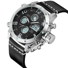 Tamlee Multifunction Digital Quartz Analog Sport Watches for Men Waterproof M