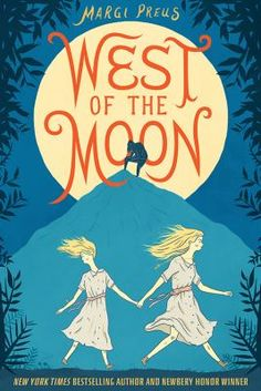 In West of the Moon, award-winning and New York Times bestselling author Margi Preus expertly weaves original fiction with myth and folktale to tell the story of Astri, a young Norwegian girl desperate to join her father in America.  After being separated from her sister and sold to a cruel goat farmer, Astri makes a daring escape. She quickly retrieves her little sister, and, armed with a troll treasure, a book of spells and curses, and a possibly magic hairbrush, they set off for America.