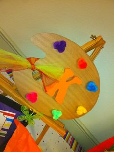 """Photo 1 of 55: Rainbow / Birthday """"Rainbow Inspired Arts & Crafts Party"""" 