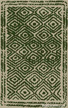 Surya Atlas Rug, Spruce Green