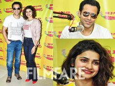 Emraan Khan and Prachi Desai promoted their upcoming sport-drama Azhar on Radio Mirchi. The duo has earlier worked together in Once Upon A Time In Mumbai and sure seemed comfortable in each others company smiling and posing for the paps happily. Azhar is based on the controversial life of former captain of Indian cricket team Mohammad Azharuddin. Tell us how excited are you to watch this jodi on-screen again? by #Filmfare. Shared by #BollywoodScope