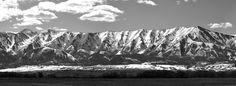 Wellsville Mountains,  Cache Valley, Utah.  Home  :)
