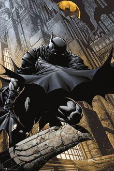 Batman Comics - Stalker Pôster