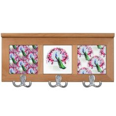 http://www.zazzle.com.au/peacock_cherry_blossoms_and_lattice-256643061248530105?rf=238523064604734277 Peacock Cherry Blossoms And Lattice Coat Stand - This coat stand features a peacock perching on a cherry blossom branch in front of a lattice wall.