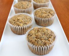 Lemon Poppy Seed Muffins, I just made these, they are to die for and CLEAN!! ( I subbed chia seeds for poppy seeds and upped the nutrition factor)