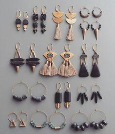 aretes - #aretes Cute Jewelry, Boho Jewelry, Jewelry Accessories, Fashion Jewelry, Women Jewelry, Jewelry Design, Jewelry Ideas, Jewellery Rings, Silver Jewelry