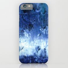 Saltwater Silk Blue iPhone & iPod Case by Nina May Designs - $35.00