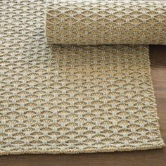 Lattice Knot Wool & Jute Rug. Plainer runner (2.6 x 9') if keep slipcovers. Images I like all have mellow rug  and colorful furniture/accents. consider black color for entry and mellow throughout.