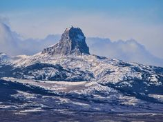 The picturesque Chief Mountain captured from nearby duck lake.  (Photo: Steve/Flickr)