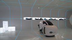 Futuristic Furniture Design From Tron In Real