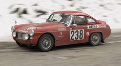 Monte-Carlo historique 2012- 1966 MG Midget