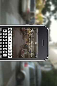 text and walk!... genius. they need to make this app for droids. cuz texting and walking together is not my forte!
